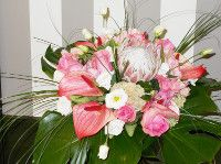 bouquet con anthurium