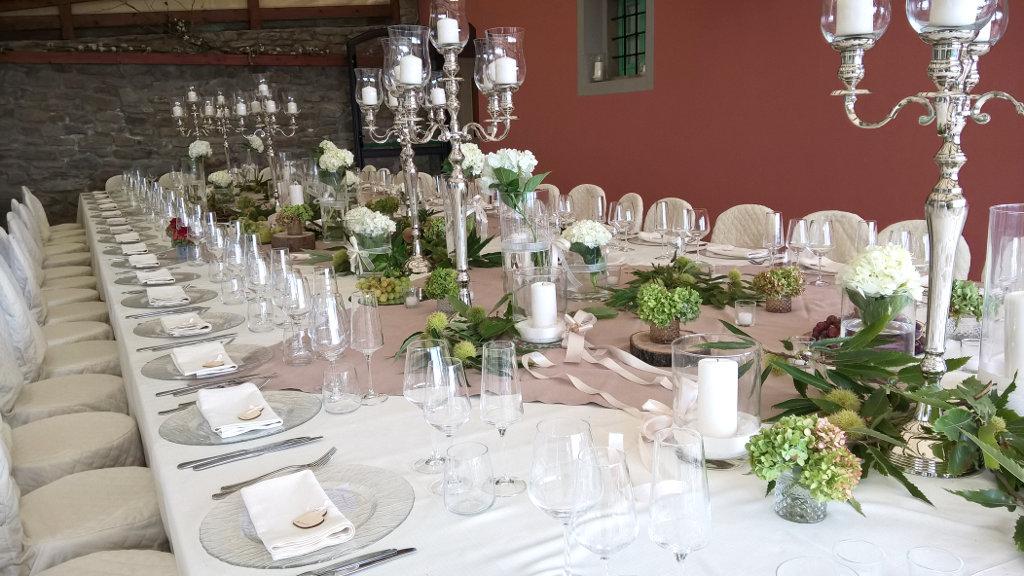 Addobbo tavolo imperiale with tavoli addobbati per matrimonio - Tavoli addobbati per diciottesimi ...